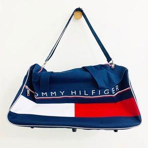 Tommy Hilfiger Vintage 90's Large Logo Duffel Bag